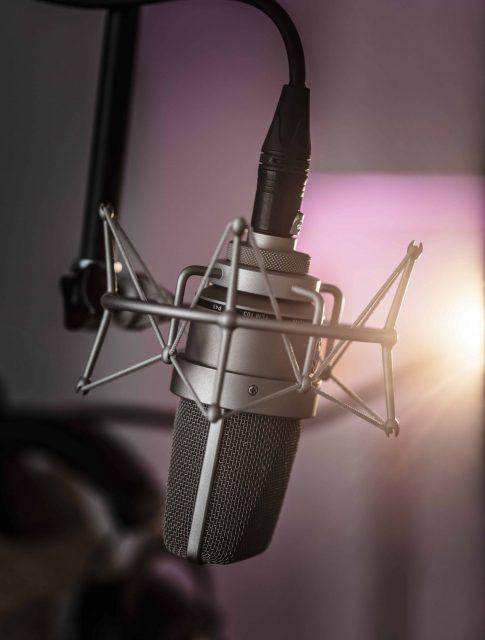 NPA records microphone
